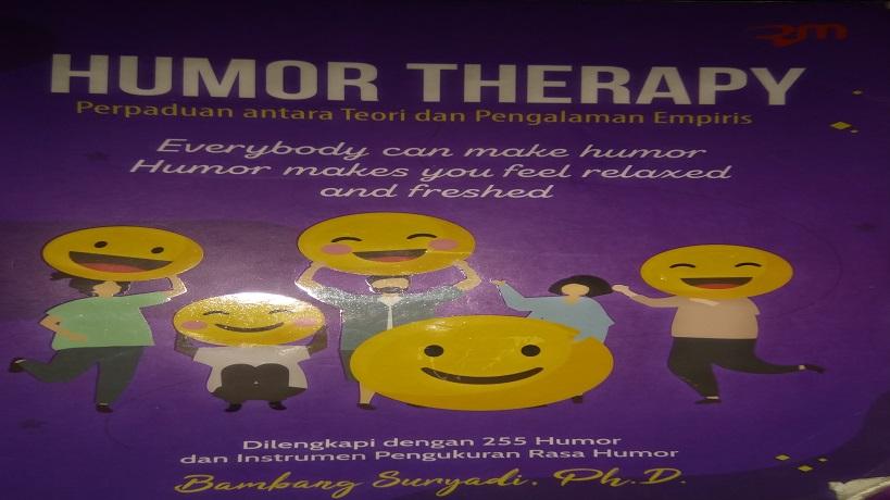 resensi buku humor therapy, humor therapy pdf, download buku humor therapy, review buku humor therapy